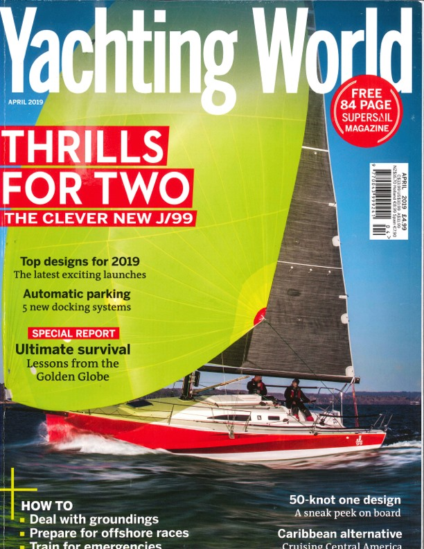 Yachting World Cover 2019